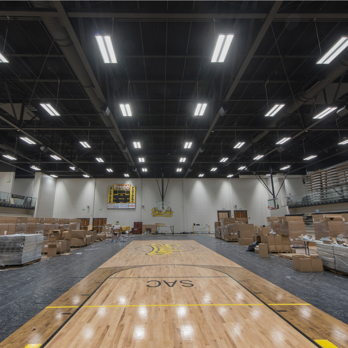 snider high school renovation la electric electrical